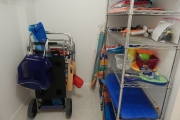 <h5>Everything You Need for a Beach Day</h5><p>Beach Cart, Towels, and Umbrella Provided</p>