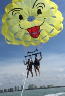Parasailing Adventure on Marco Island