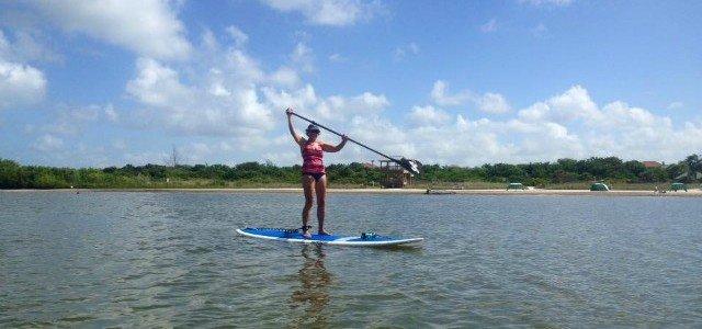 Paddleboarding and Kayaking Tigertail Lagoon