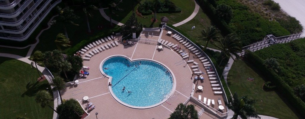 Heated Pool Sea Mar Condo Marco Island Penthouse Condo #1907