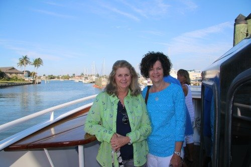 Aboard the Marco Island Princess