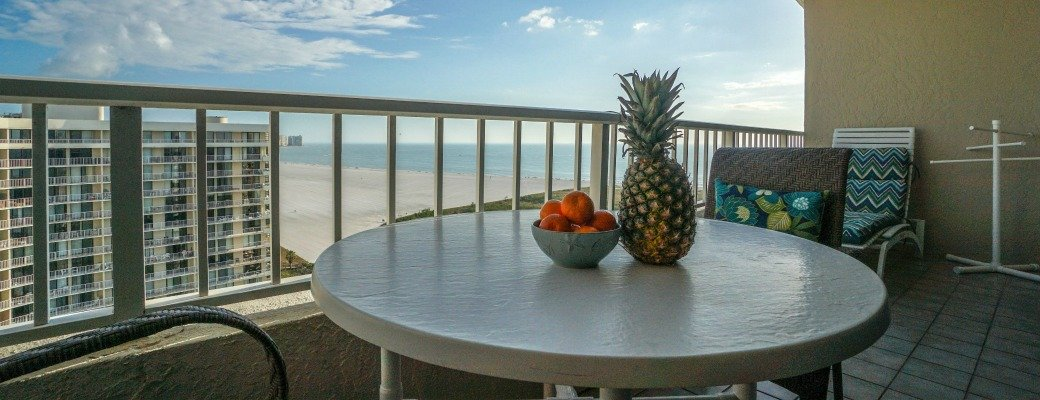 Sea Mar Condo Balcony