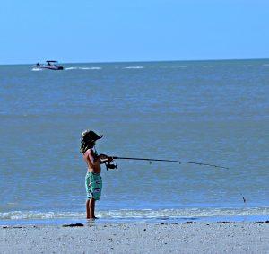 Fishing on Marco
