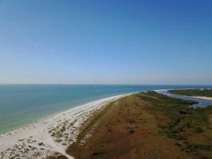 Tigertail Beach Aerial Picture