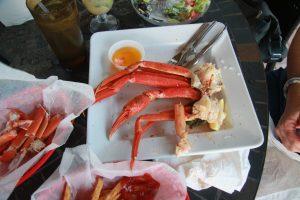 Sunset Grill Crab Legs