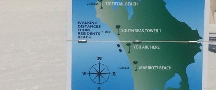 Walking on the Beach in Marco Island